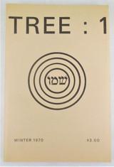TREE: #1, by David Meltzer - 1970 [premier issue]