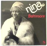LP: Nina Simone, on BALTIMORE - 1978 [1st Press]