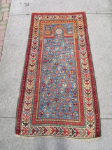 ANTIQUE CAUCASIAN PRAYER RUG - [5.5' X 3']