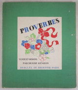 PROVERBES, by Denise Remion - 1935 [1st Ed]