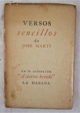 VERSOS SENCILLOS DE JOSE MARTI - 1939