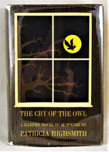 THE CRY OF THE OWL, by Patricia Highsmith - 1962 [1st Ed]