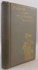 POEMS: SECOND SERIES, Emily Dickinson - 1892 [2nd Printing] T.W. Higginson VG