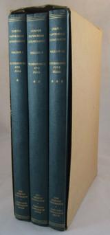 CORPUS PAPYRORUM JUDAICARUM, V. Tcherikover - 1957 3 Vols. Hermeneutics Ostraca
