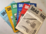 THE DRAG RAG - 1961  [6 Issues]