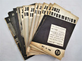 JAZZ INFORMATION -1940-1 Magazine [16 Issues] Bios, Interviews, Record Reviews