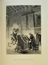 WEIRD TALES, by E.T.W. Hoffmann; A. Lalauze - 1885 [Ltd Ed w/Etchings]