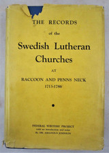 THE RECORDS OF THE SWEDISH LUTHERAN CHURCHES - 1938