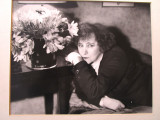"ANDRE KERTESZ, Silver Gelatin Photo: ""Colette, Paris"" [Signed]"