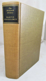 MARTIN CHUZZLEWIT, by Charles Dickens -1937 [Ltd Ed] *Nonesuch*