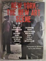 NEW YORK: THE NEW ART SCENE, by Ugo Mulas - 1967 [1st Ed]