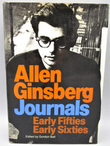 JOURNALS: EARLY FIFTIES EARLY SIXTIES, by Allen Ginsberg - 1977 [Review Copy] *Ephemera*