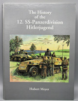 HISTORY OF THE 12. SS-PANZERDIVISION HITLERJUGEND, by Hubert Meyer - 1994