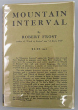 MOUNTAIN INTERVAL, by Robert Frost - 1916 [True 1st]