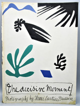 THE DECISIVE MOMENT, by Henri Cartier Bresson - 1952 [1st Ed]