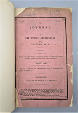 JOURNAL OF INDIAN ARCHIPELAGO, by J.R. Logan F.G.S. - 1850 [Vol 4-7]