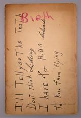 BIRTH: NO. 2 SUMMER 1959,  by Tuli Kupferberg (ed) - 1959 [1st ED]
