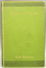 LEAVES OF GRASS, by Walt Whitman - 1881 [author's copyright ed]