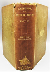 A HANDBOOK OF BRITISH BIRDS, by J. E. Harting - 1901