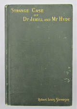STRANGE CASE OF DR JEKYLL AND MR HYDE, by Robert Louis Stevenson - 1886 [1st Ed]