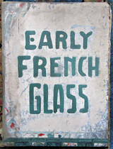 EARLY FRENCH GLASS, by M. Eugene Hucher - 1865 [elephant folio]