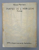 PORTES DE L' HORIZON POEMES, by Raissa Maritain - 1952