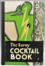 THE SAVOY COCKTAIL BOOK, by Harry Craddock - 1930 [1st Ed]