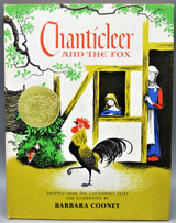 CHANTICLEER AND THE FOX, by Barbara Cooney - 1958 [Signed 1st Ed]