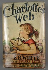 CHARLOTTE'S WEB, by E.B. White & Garth Williams - 1963 [5th Ed]
