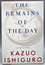 THE REMAINS OF THE DAY, by Kazuo Ishiguro - 1989 [Signed 1st Ed]
