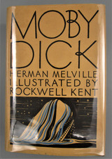 MOBY DICK, by Herman Melville; Rockwell Kent - 1982