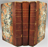 COMPLETE WORKS OF BENJAMIN FRANKLIN - 1806 [1st Ed, 3 Vols]