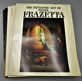 THE FANTASTIC ART OF FRANK FRAZETTA VOLUMES 1-5, by Betty Ballantine - 1975