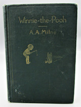 WINNIE THE POOH, by A.A. Milne & Ernest H. Shepard - 1926 First Edition