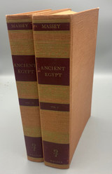 ANCIENT EGYPT: THE LIGHT OF THE WORLD Vol. I & II, by Gerald Massey - 1970