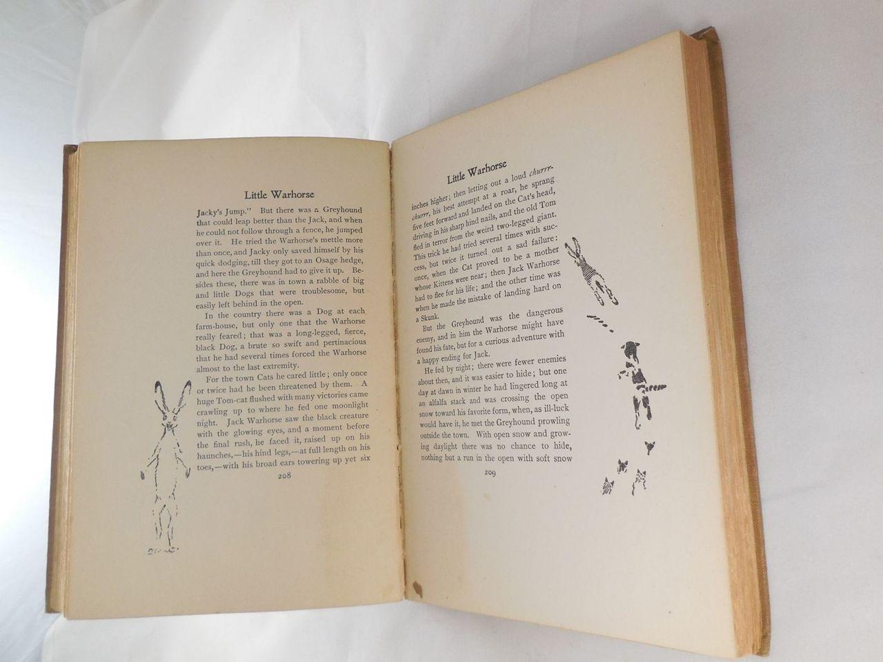 ANIMAL HEROES, by Ernest Thompson Seton - 1905 [Signed 1st Ed]