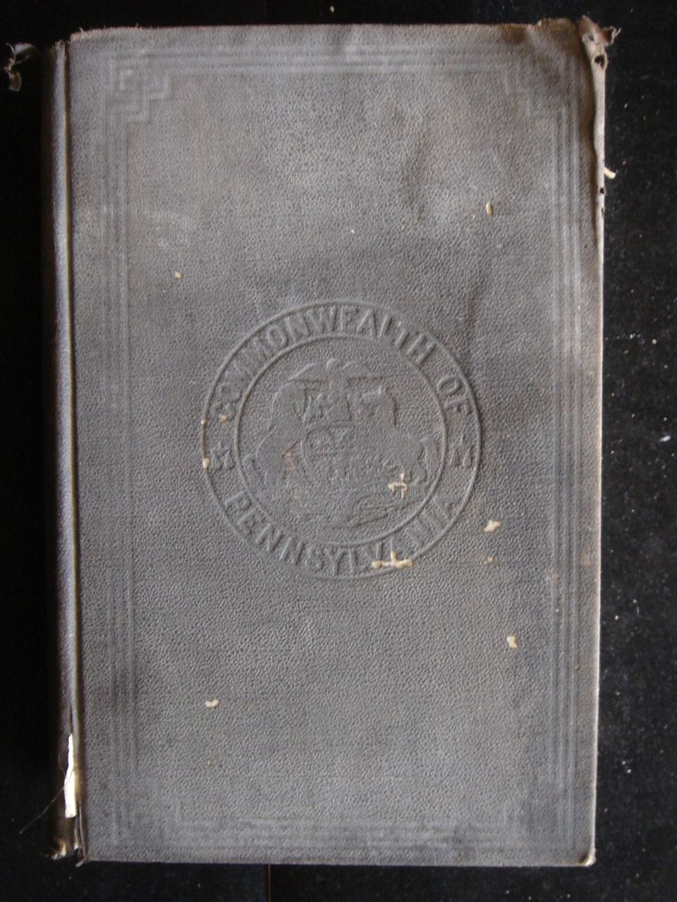 ANNUAL REPORT OF THE AUDITOR GENERAL of PA - 1868