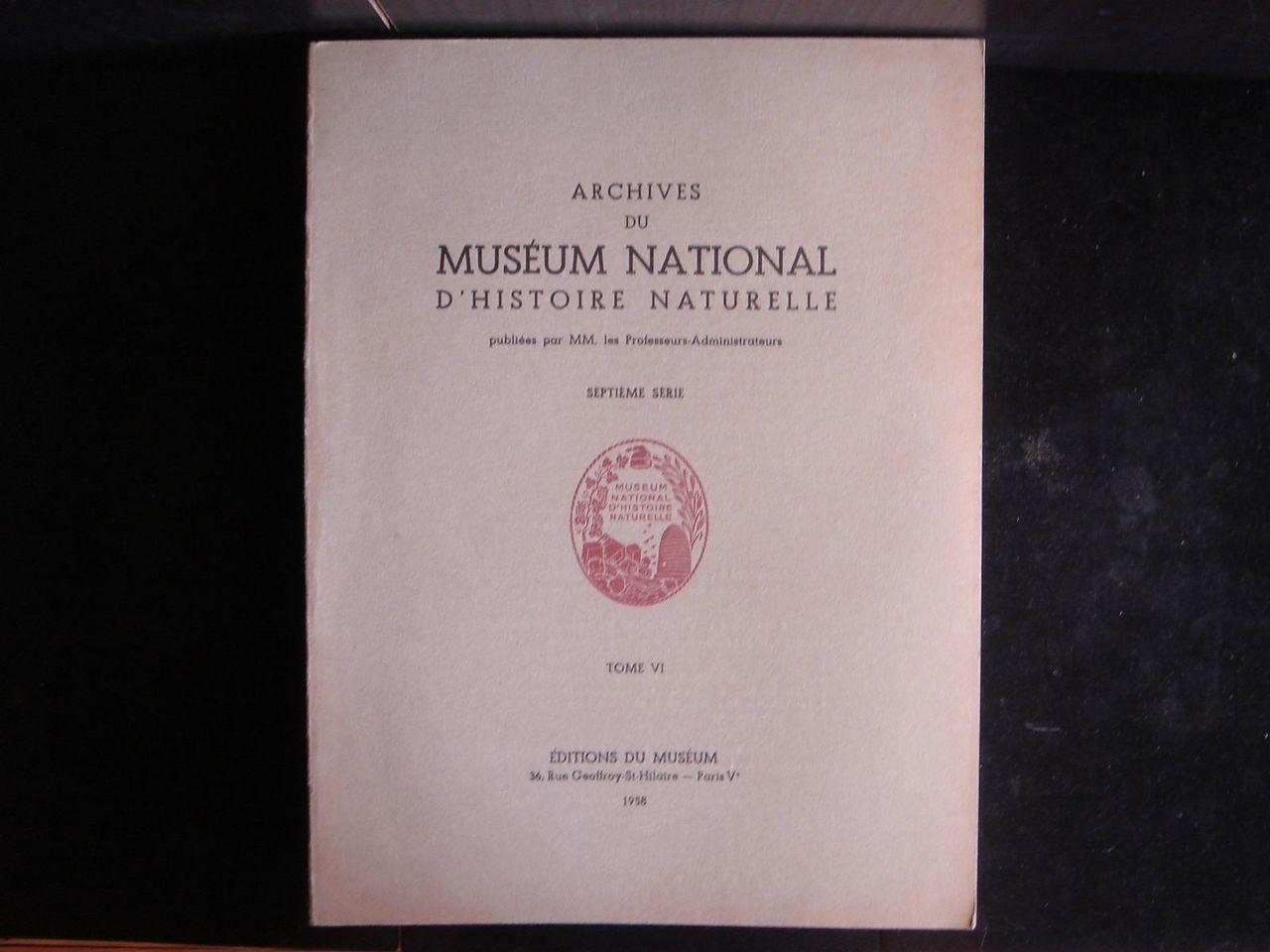 Archives du Muséum National D'Histoire Naturelle Les Champignons Hallucinogénes