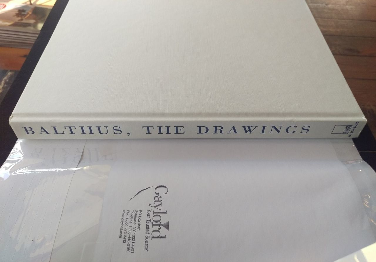 BALTHUS: THE DRAWINGS - 1998 [1st English Ed]