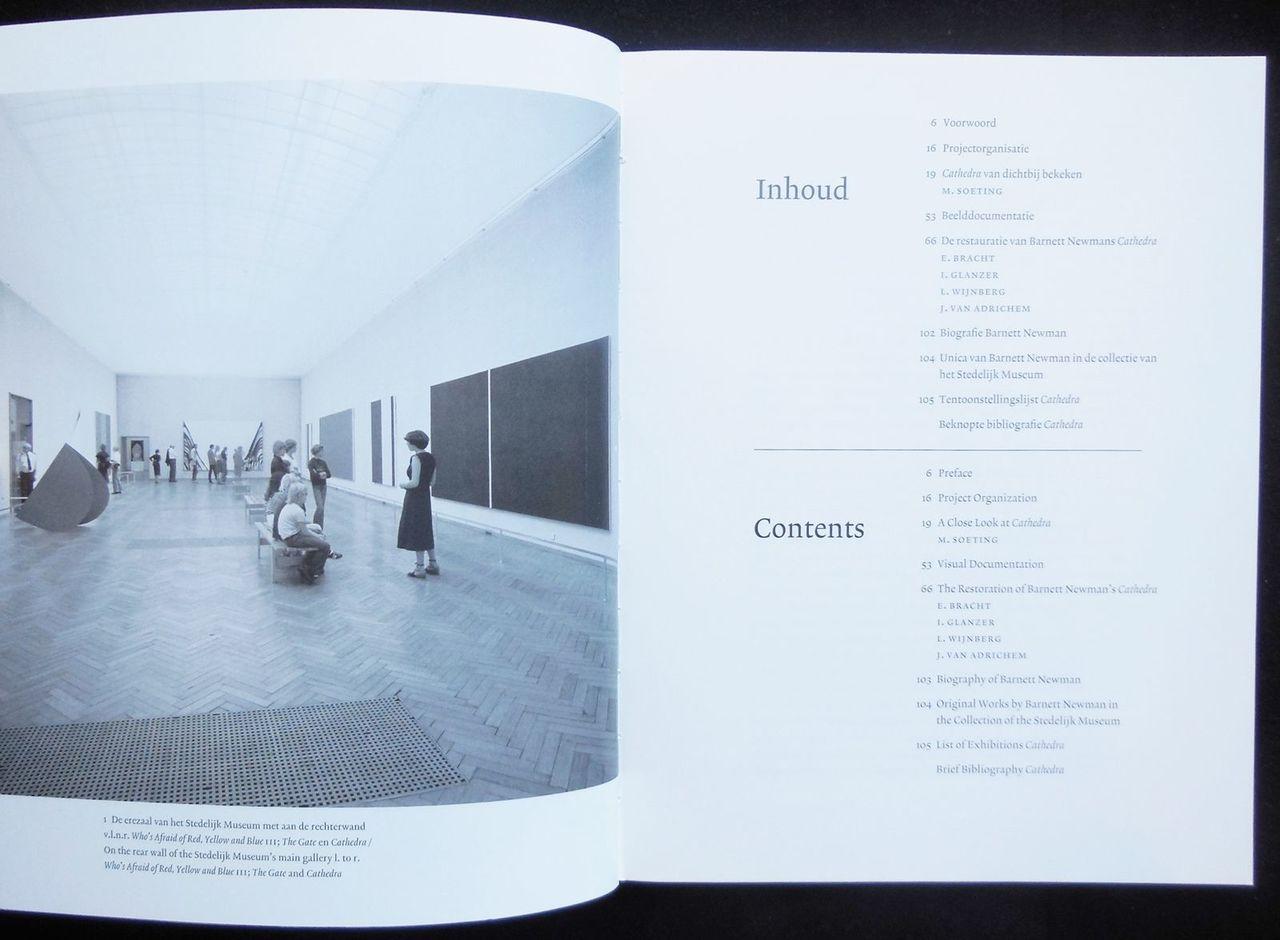 BARNETT NEWMAN: CATHEDRA, by Barnett Newman - 2002