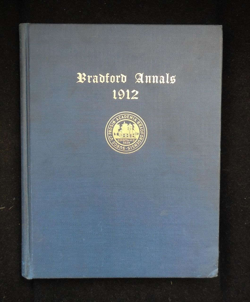 BRADFORD ANNALS 1912, the members of Bradford College, illustrated 1912 annals.