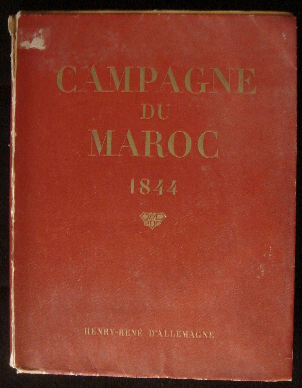 "CAMPAGNE DU MAROC HENRY-RENE D'ALLEMAGNE VERY SCARCE COLOR PLATE ""TANGER"""