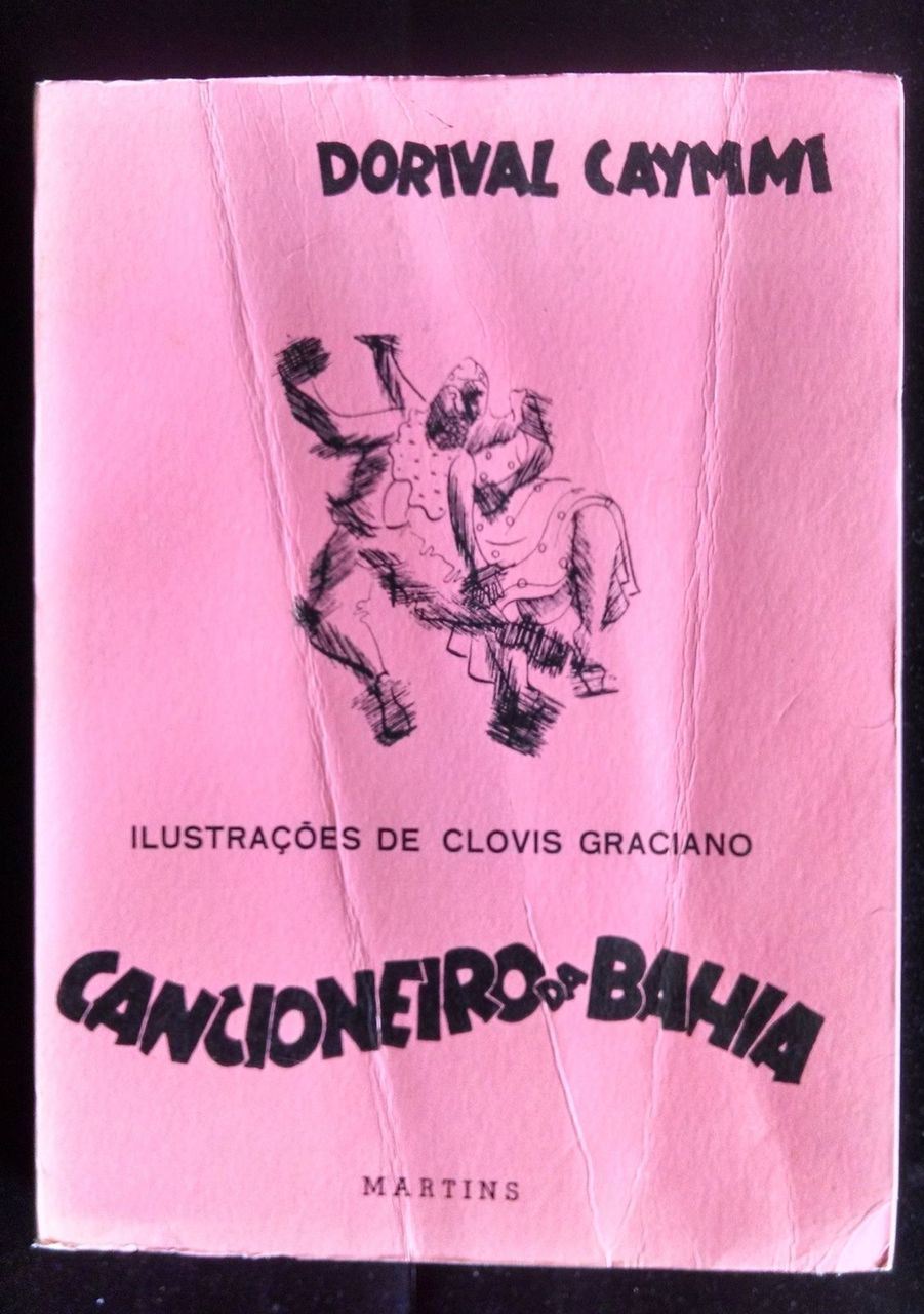 CANCIONEIRO DA BAHIA No 1666 Signed By Caymmi & Amado Songs Music Spanish
