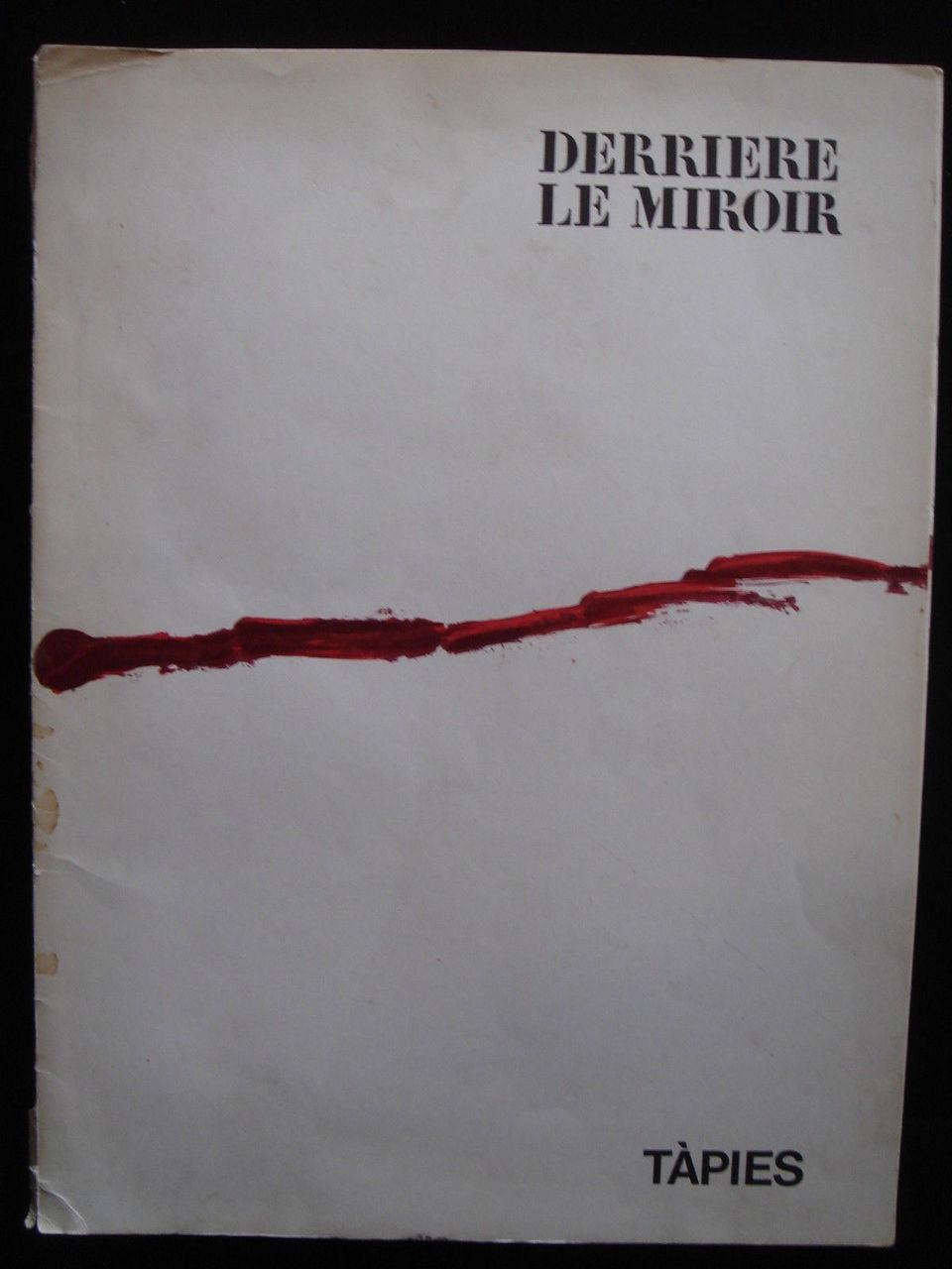 DERRIERE LE MIROIR #180 - Oct 1969 *Tapies Lithographs*