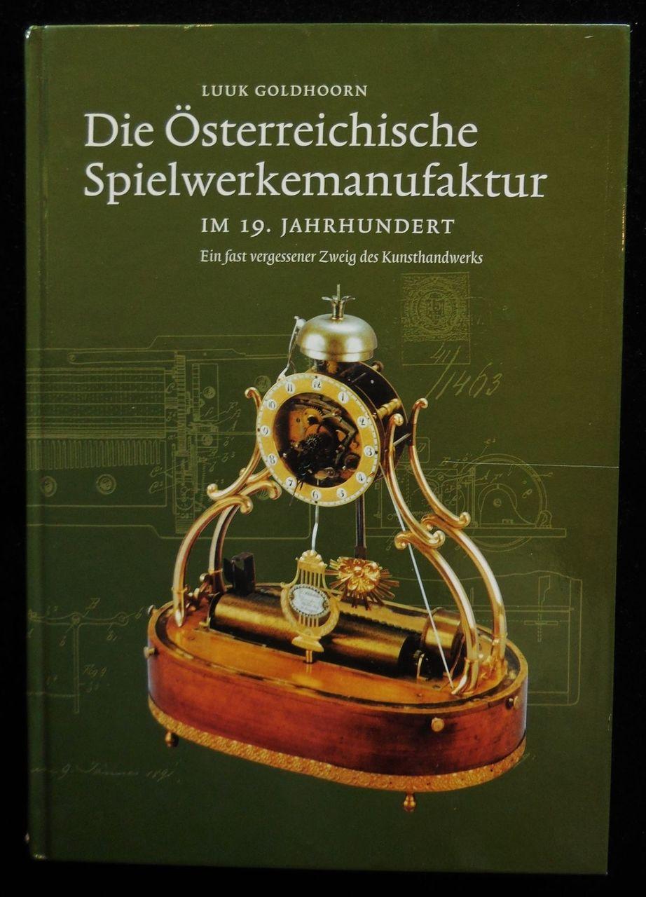 OSTERREICHISCHE SPIELWERKEMANUFAKTUR, by Luuk Goldhoorn - 1990 [Ltd Ed]