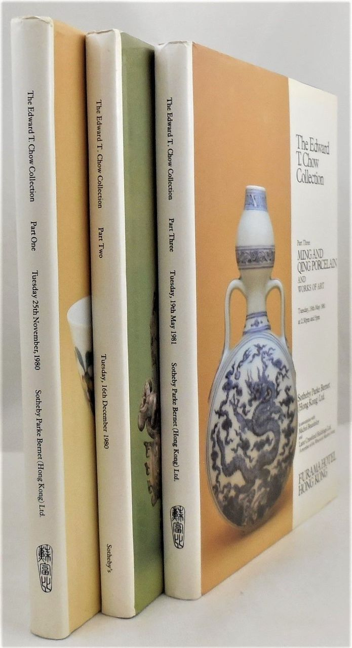 EDWARD T. CHOW COLLECTION [3 Vols]
