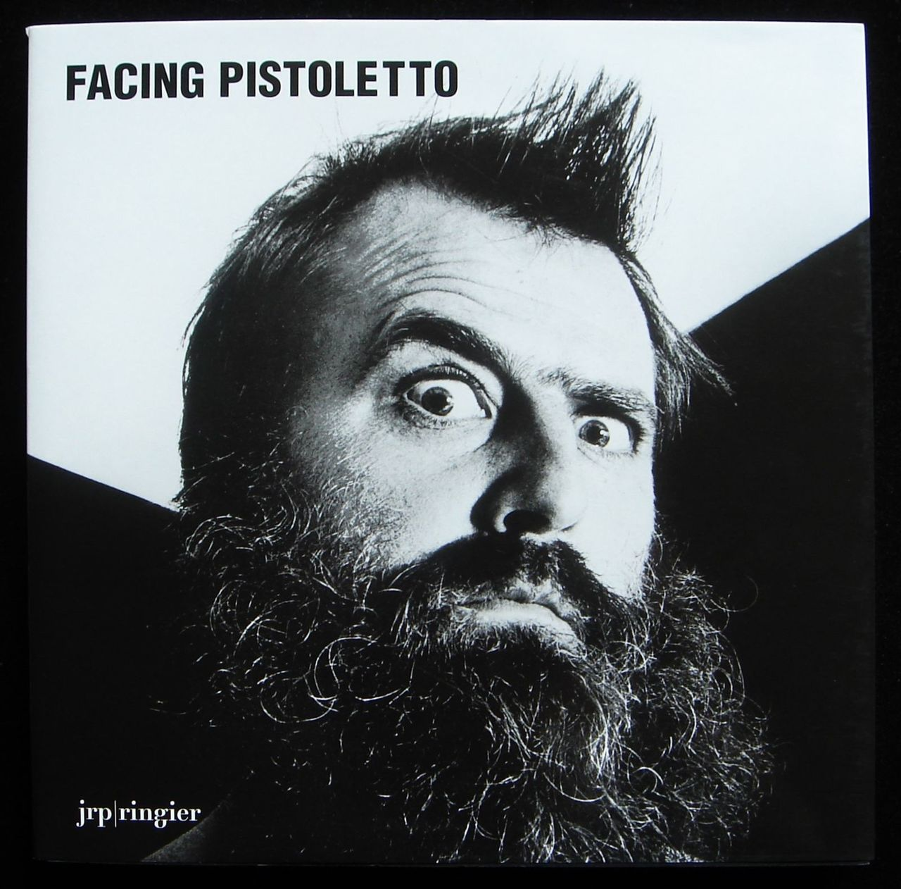 FACING PISTOLETTO, by Andrea Bellini 2009 [signed] Art Performance Sculpture