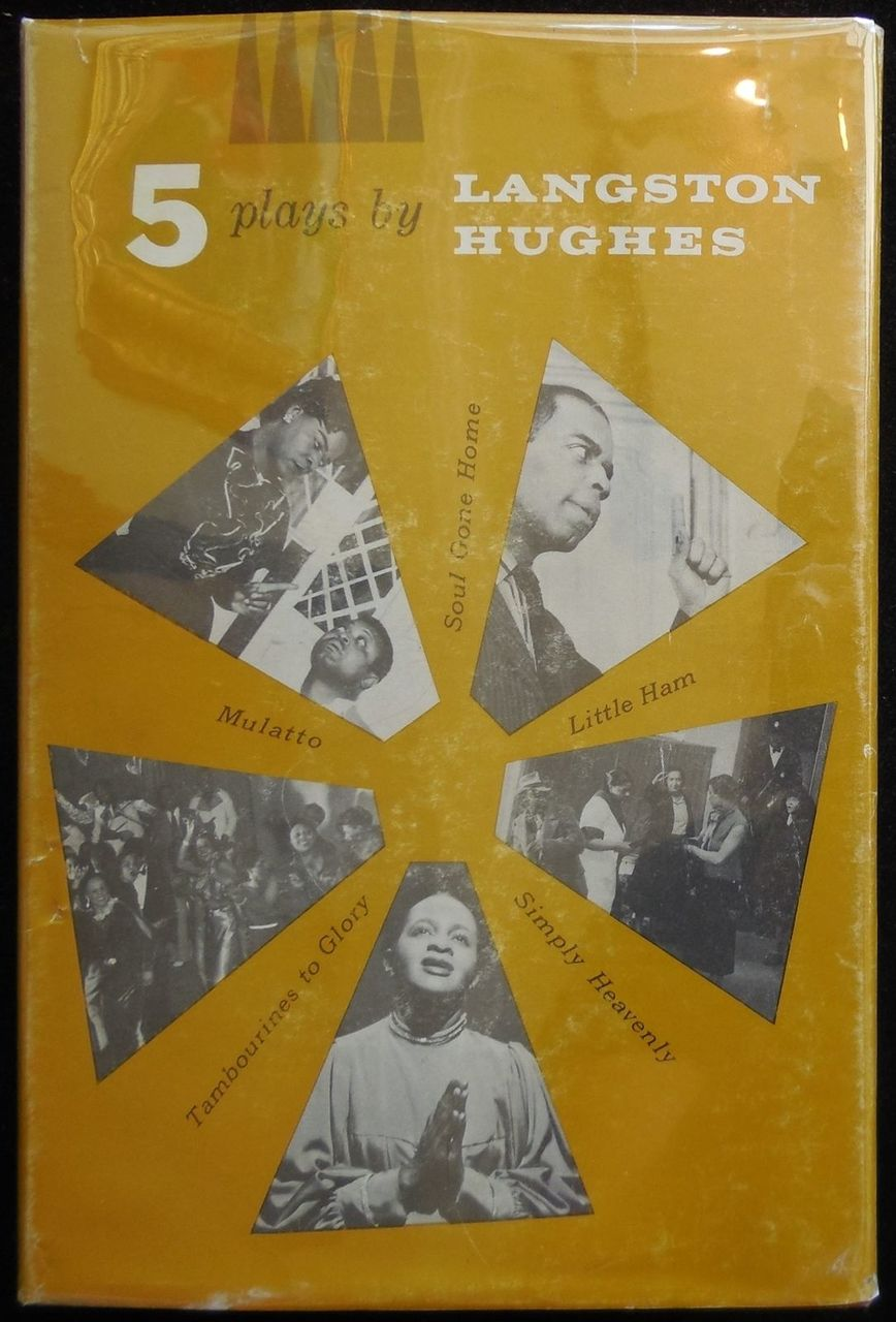FIVE PLAYS BY LANGSTON HUGHES, by Webster Smalley - 1963 [1st Ed]