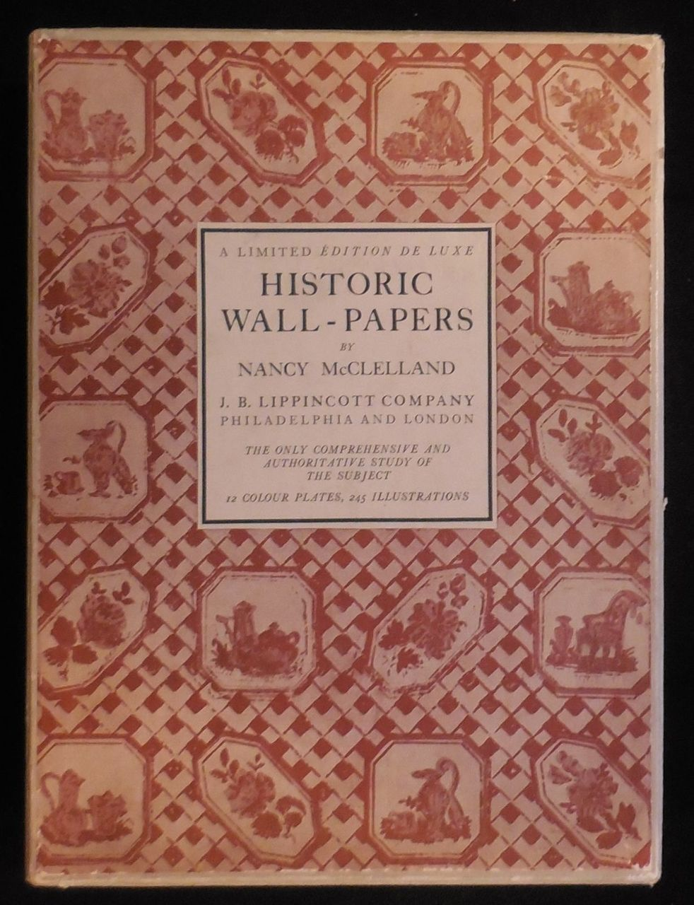. HISTORIC WALL PAPERS  by Nancy McClelland   1924 Decorating and Interior  Design