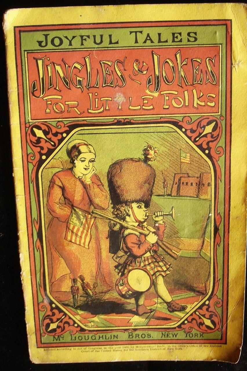 JINGLES & JOKES FOR LITTLE FOLKS - 1869